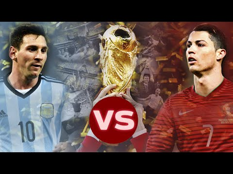 Lionel Messi Vs Cristiano Ronaldo - World Cup Brasil 2014