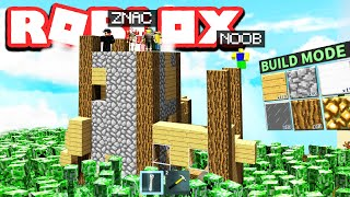 Build to Survive Creepers in ROBLOX!