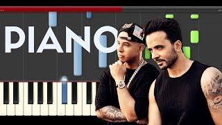 download lagu Luis Fonsi Despacito Ft. Daddy Yankee Piano Midi Justin gratis