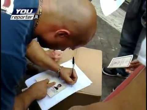 Regione Lazio, protesta riforma sanita sindaci fermati – YouReporter.it.mp4