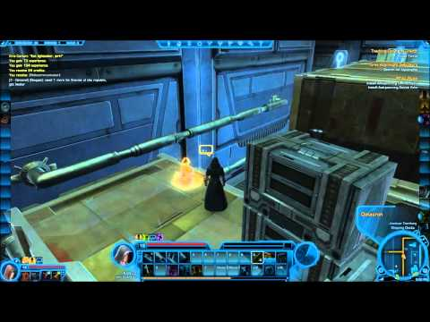 Datacron Locations - Coruscant - Game Cannon SWTOR