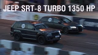 Fastest Jeep SRT-8 Turbo (1350 HP)
