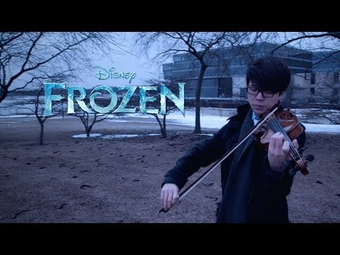Disneys Frozen Let It Go Jun Sung Ahn Violin Cover