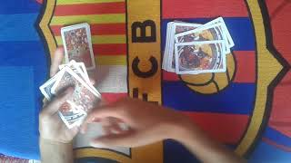 Amazing card trick with no set up