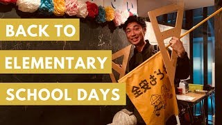 BACK TO ELEMENTARY SCHOOL in Japan