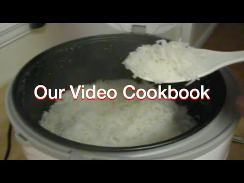 How to make Basmati Rice - Cooker Method Recipe | Our Video Cookbook #82