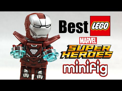 Best LEGO Marvel Minifigure! LEGO Silver Centurion review!