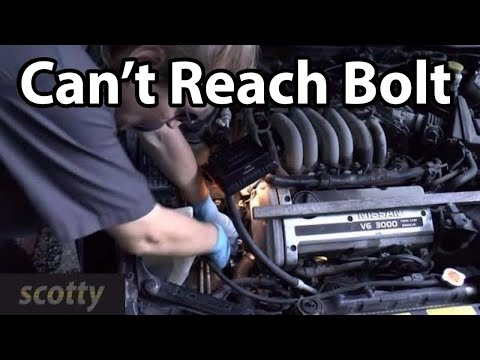 Removing Hard To Access Nuts And Bolts