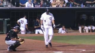 Max Ramirez against Eric Milton, May 7th, 2009