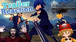 Final Fantasy XV Pocket Edition Andriod / iOS Trailer Reveal Reaction