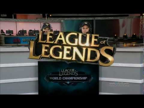 LoL WCC 2012 - Season 2 -Quarter Finals M5 vs IG - [Match 1]