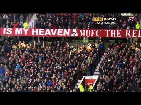 Old Trafford homenagem a Eusébio