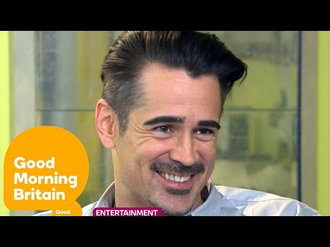Colin Farrell On Turning 40 And The Lobster Love Story | Good Morning Britain