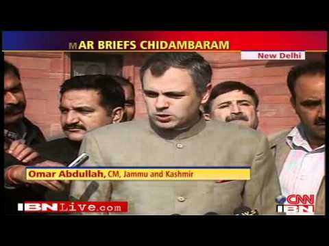 Kashmir Chief Minister Omar & India Home Minister discuss BJP's plan to hoist Tricolour