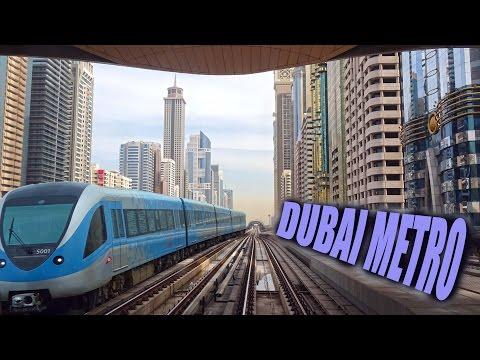 Dubai Metro Ride - 2016 4K