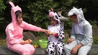 Câu Chuyện Tình Bạn Thỏ Hồng Bò Sữa Và Sói Xám - Kể Chuyện Hay Cho Bé Nghe - MN Toys