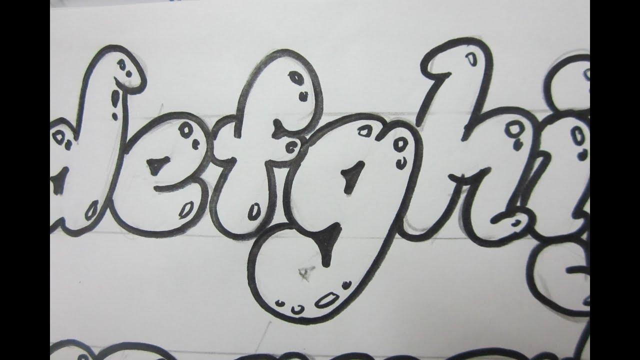 Bubble Letter Maker Letters Bubble Letters
