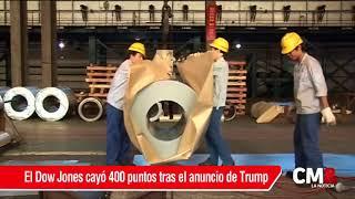 Trump anuncia aranceles al aluminio y el acero