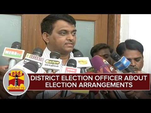 District Election Officer About Election Arrangements Ahead Of Assembly Polls
