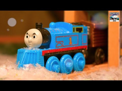 Thomas and Friends Winter Toy Train Adventure!