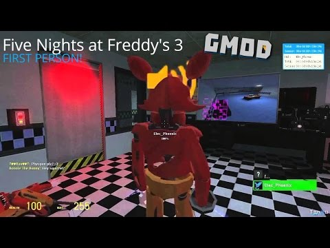 FNAF 3 - First Person Multiplayer