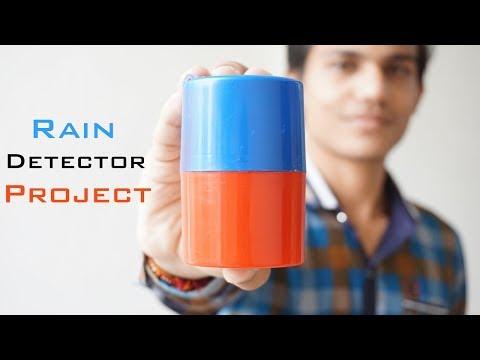 DIY RAIN INDICATOR | How To Make Rain Detector Alarm Project At Home | Indian Life Hacker