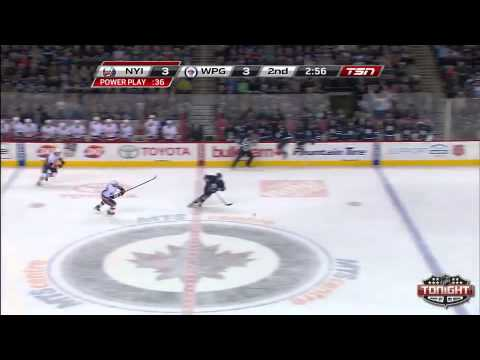 Jets vs Islanders Highlights 4/20/13