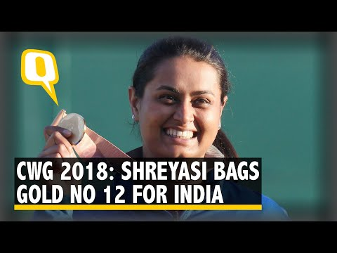 CWG 2018: Shreyasi Singh Bags Gold In Double Trap, Ups India's Tally To 12