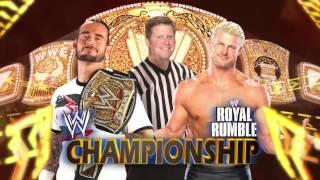 WWE- Royal Rumble 2012 Full Match Card