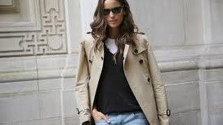 How to wear a trench coat like a Parisian, how to add Parisian Chic to your wardrobe.