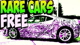 GTA 5 Online - FREE RARE CARS After Patch 1.17 - Secret Storable Vehicles (GTA 5 Rare Cars Guide)