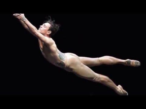 Zero Gravity Sergei Polunin/Сергей Полунин, gravity has no hold on the tattooed ballet/балет star.