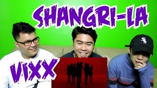 VIXX SHANGRI LA MV REACTION FUNNY FANBOYS