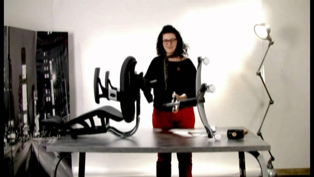 notice de d montage d 39 un fauteuil de bureau miliboo youtube. Black Bedroom Furniture Sets. Home Design Ideas
