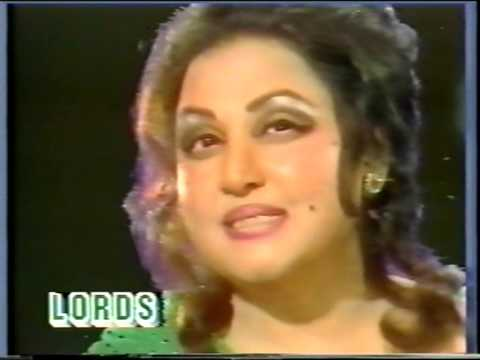 Meri Zindagi Hai Naghma Meri Zindagi Taraana - Noor Jehan In Tarannum video