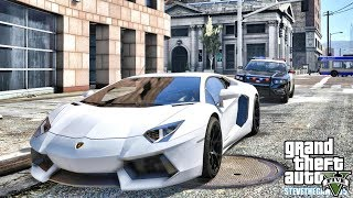 GTA 5 REAL LIFE MOD #656 - PICKING UP MY UGR AVENTADOR (GTA 5 REAL LIFE MODS)