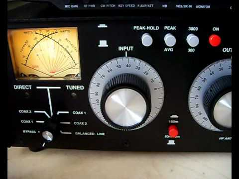 Palstar AT2K & Icom IC-7400 review sneak preview
