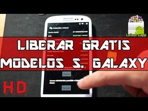 LIBERAR GRATIS SAMSUNG GALAXY S3 Y OTROS MODELOS GALAXY CON APP