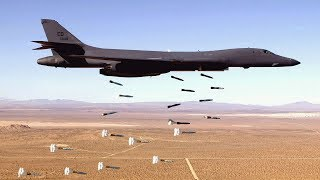 Stunning Video of B-1 Lancer in Action • Takeoff & Landing [Training Footage]