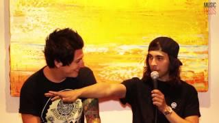 PIERCE THE VEIL Interview (Soundwave 2013)