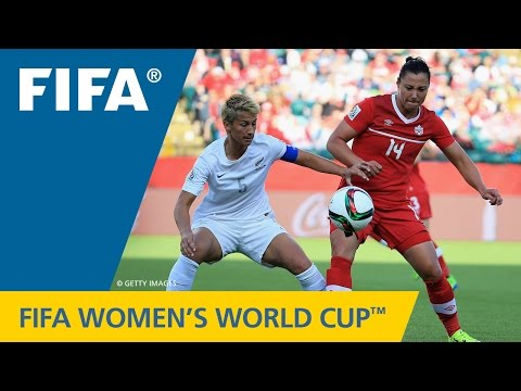 HIGHLIGHTS: Canada v. New Zealand - FIFA Women's World Cup 2015