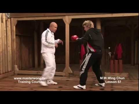 Wing Chun Lesson 57: Basic spar work with multiple kicks Image 1
