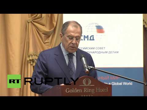 Russia: US has an anti-Russian agenda, says Lavrov