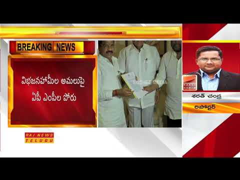 TDP, YSRCP MPs Protest in Rajya Sabha Demands for Justice to Andhra Pradesh | Raj News
