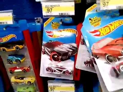 Hot Wheels treasure hunt finds at Target, Family Dollar, and Dollar General.