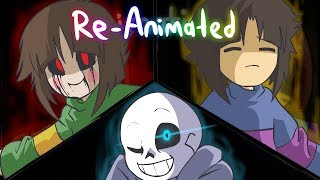 "Glitchtale S1 EP1 | ""Megalomaniac"" Re-Animated by jakei and superyoumna 