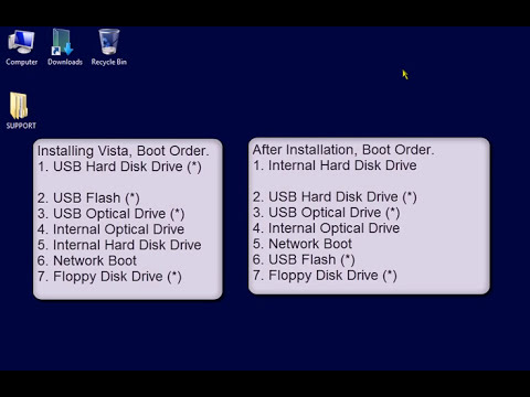 Bootable Windows Vista Installation USB Flash Drive