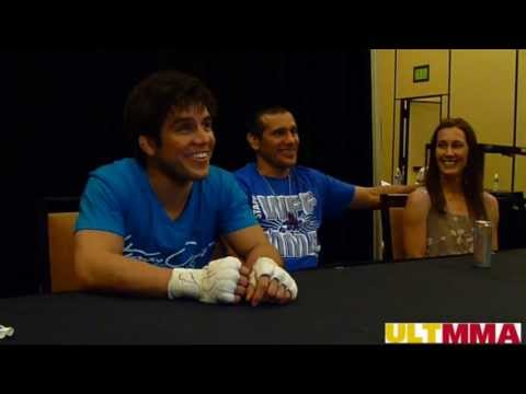 Olympic Gold Medalist Henry Cejudo MMA Fight Press Conference talks MMA Olympic Wrestling and UFC