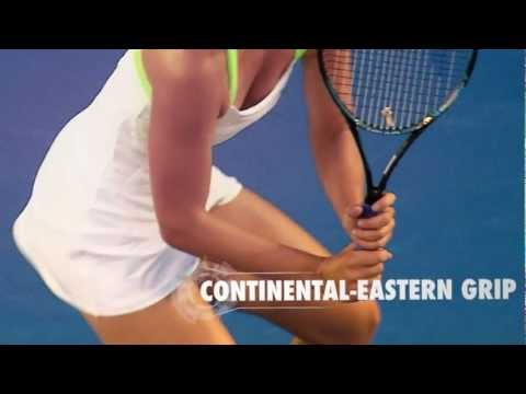 Tennis Tips: Two Handed Backhand - Maria Sharapova and Andy Murray