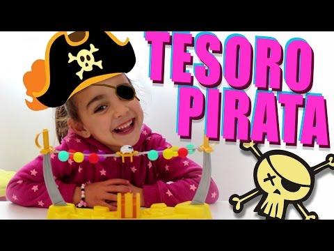 Tesoro Pirata! Juego de mesa con Andrea. Divertilandia!!